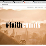 "Church Partners With Other Faith Communities in ""Faith Counts"" Initiative"
