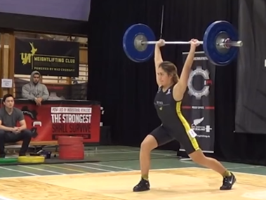 VIDEO: Family, Faith and Maori Culture Support Teen Weightlifter