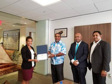 Young Fijian Woman Gives Back to Her Country