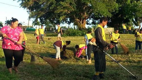 Latter-day Saints and Friends Clean Capital of Vava'u