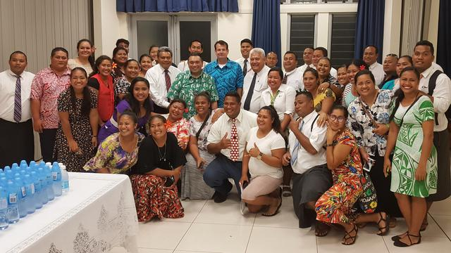 Samoan Latter-day Saints Host Philippines Ambassador