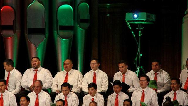 Auckland Choir Christmas 2012