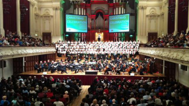 Auckland Town Hall Christmas Concert 2012