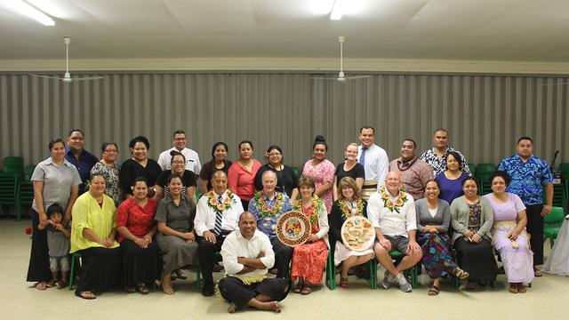 brigham young university hawaii president visits tonga