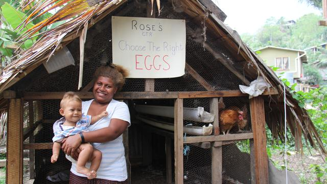 Solomon Islanders Learn Joys of Self-Reliance