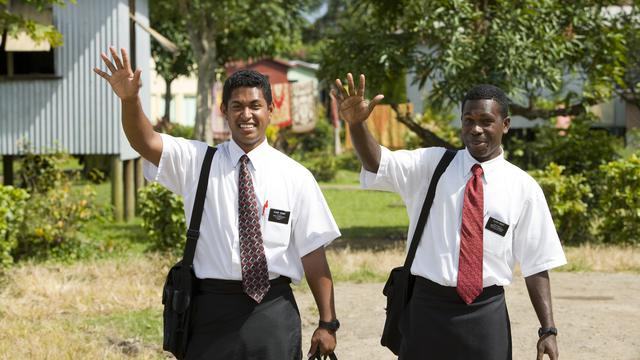 Missionaries from the South Pacific