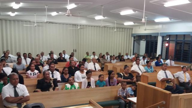 Tongan LDS Watch Announcement of New Church Leaders