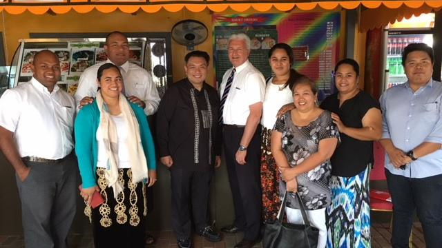 Ambassador Meets with Tongans Who Have Served as Missionaries in the Philippines
