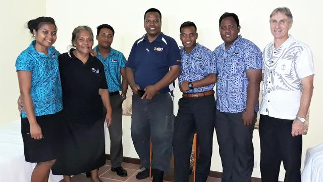 Five Former Missionaries from Kiribati Head to Nauru to Work