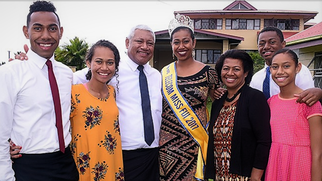 Miss Fiji Uses Spotlight to Promote Family Values, Good Morals and Environmental Stewardship