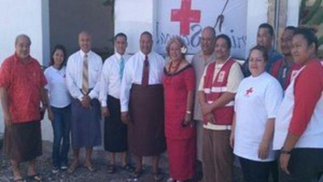 Church Assists American Samoan Red Cross