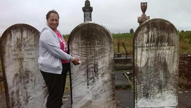 MHH Opotiki Cleaning Headstones
