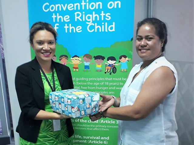 Latter-day Saint Service Centre Staff in Fiji #LightTheWorld with Christmas Giving
