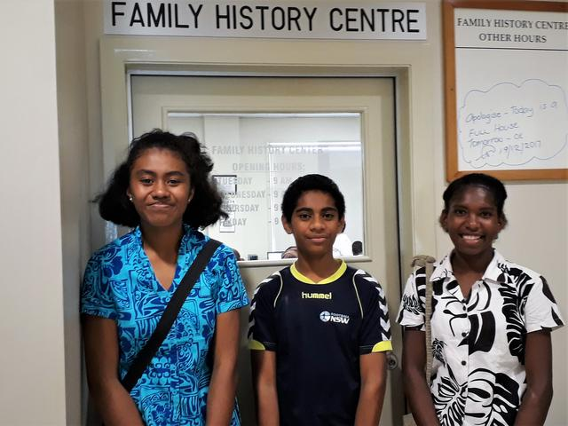 Teenagers in Fiji Connect to Their Ancestors Through Family History