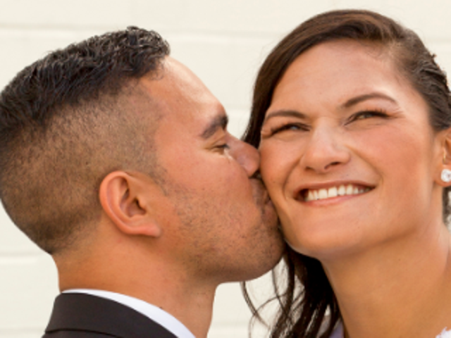 Olympian Valerie Adams Marries Sweetheart in Mormon Temple