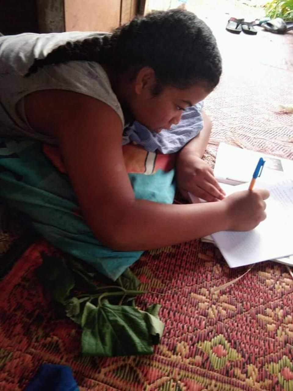 Tongan Students Continue to Learn at Home Despite Worldwide Pandemic