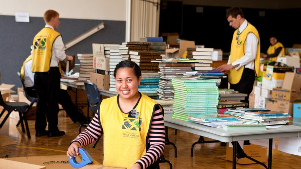 Books for Fiji (Missionaries)