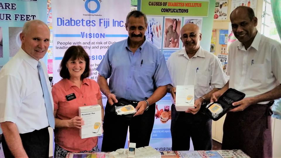 LDS Charities Helps Fiji Monitor Diabetes and Cholesterol