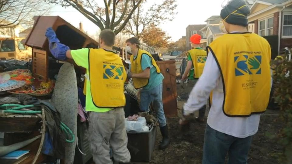 Mormon filmmaker chronicles Mormon Helping Hands efforts after Hurricane Sandy
