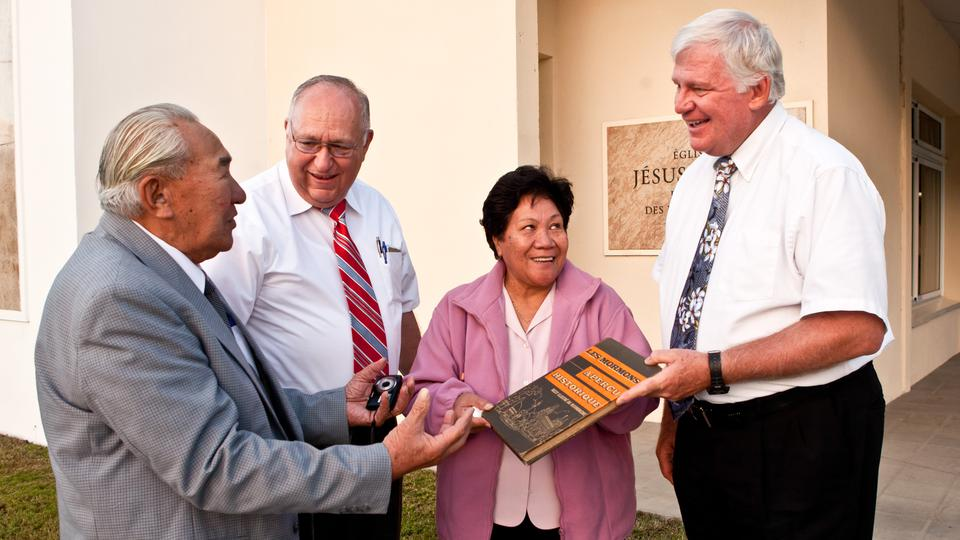 First New Caledonian Missionaries