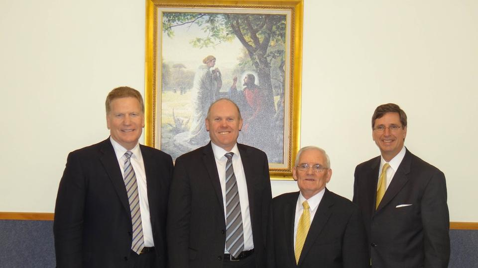 Wellington Stake Presidency Changes