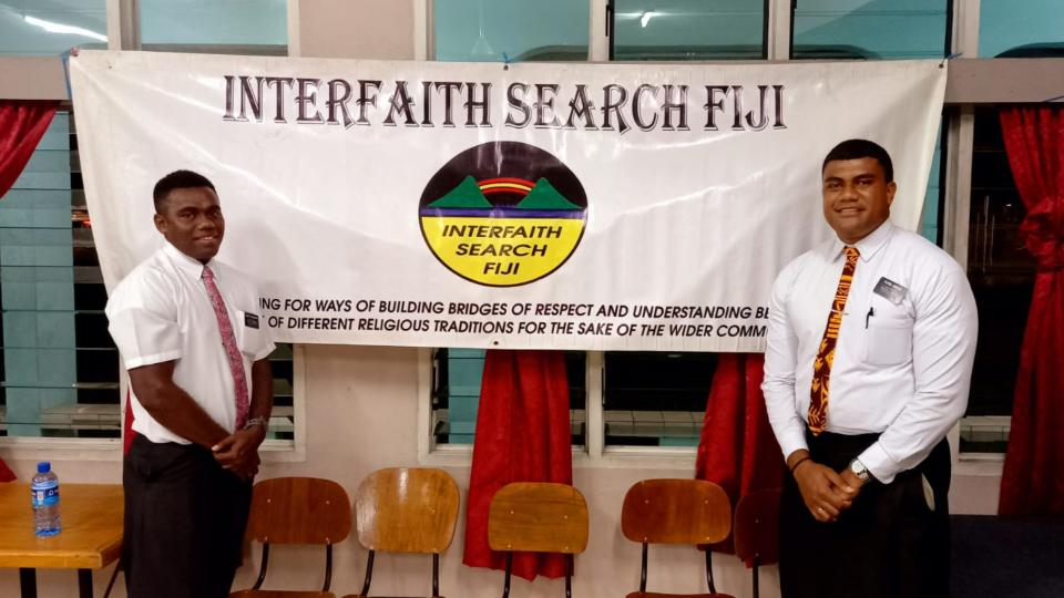Elders-Moape-Cokanawai-and-Satini-Qarase-explained-to-the-Interfaith-Search-Fiji,-that-like-other-Christians,-members-of-the-Church-celebrate-Easter-in-remembrance-of-the-Saviour-Jesus-Christ's-resurrection.-March-2021