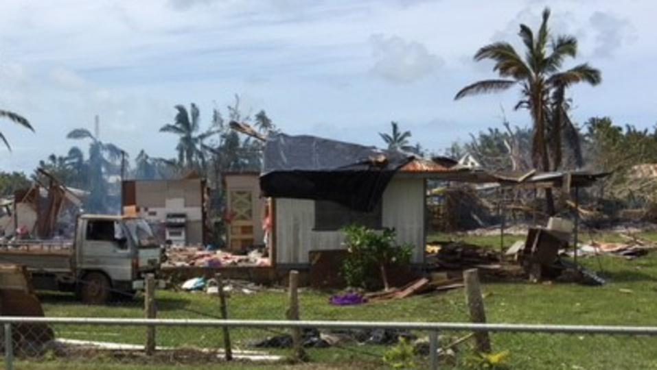 Showing Grit in the Wake of Cyclone Gita