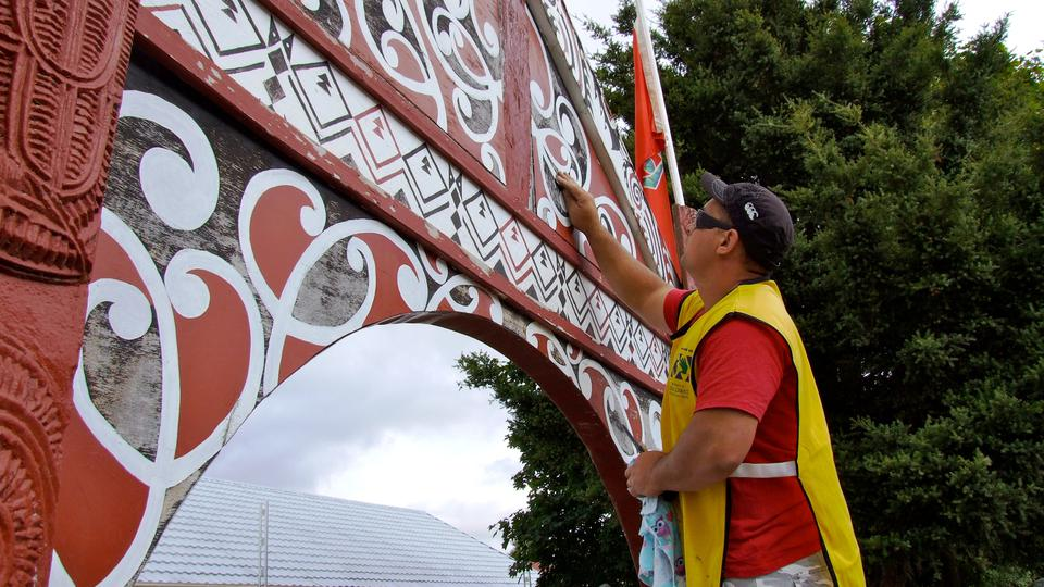 Helping Hands Project at Marae