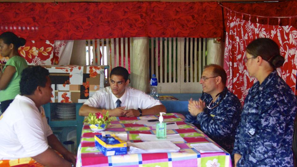 Missionaries help interpret for U. S. military
