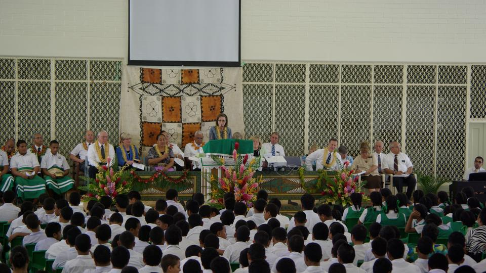 Sister Linda K. Burton Liahona High School Tonga February 2013