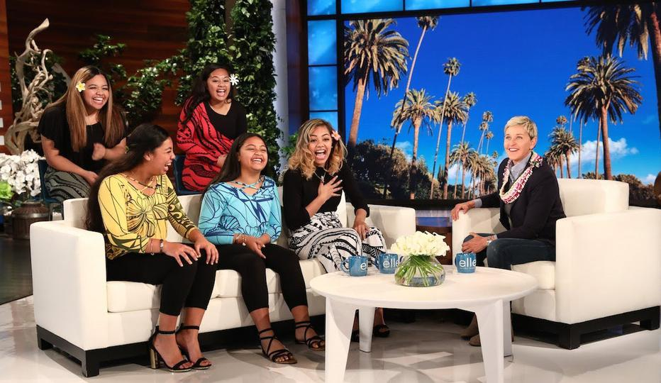 'The Tonga Sisters' Make Debut on Ellen Show