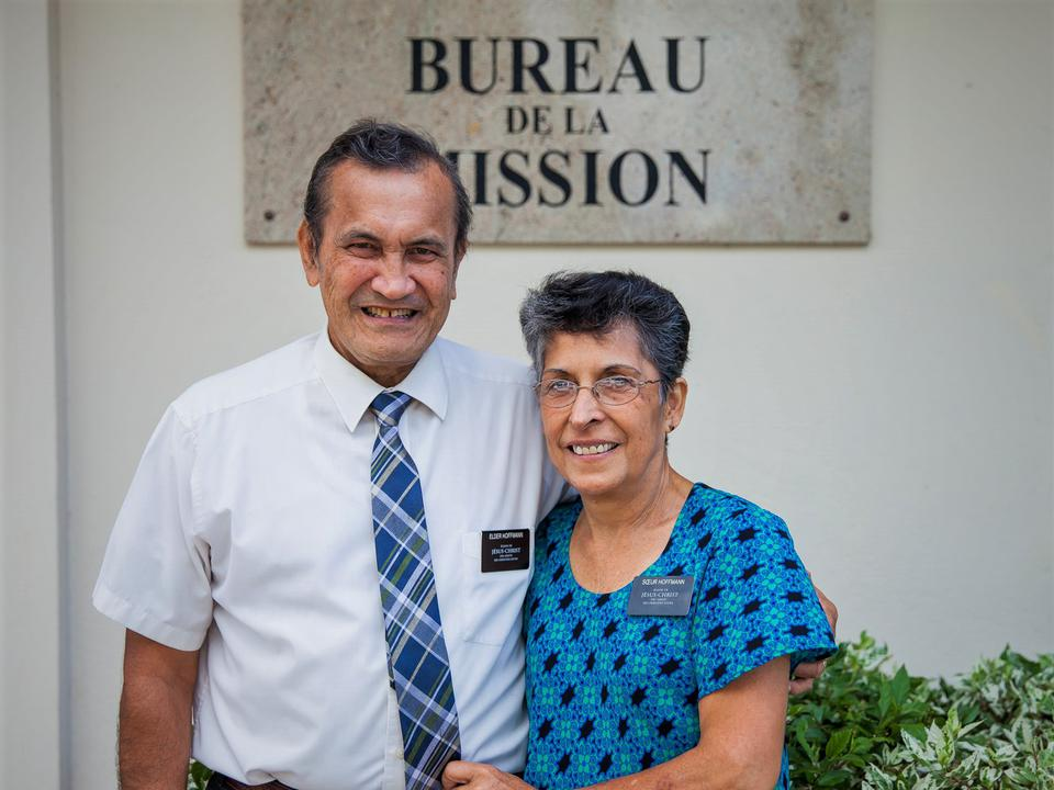 Senior Missionary Couple Fill a Vital Role in Tahiti Papeete Mission Office